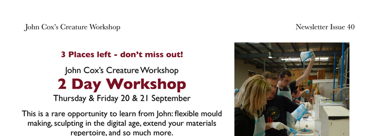 John Cox's 2 Day Workshop