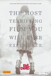 Evil Dead TEASER artwork A4poster 202x300 Julies Picks GCFF 2013