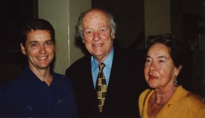 John Cox, Ray Harryhausen & Diana Harryhausen at BIAF 2000