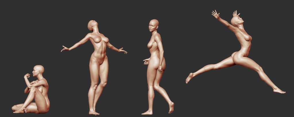 figure variations female 2