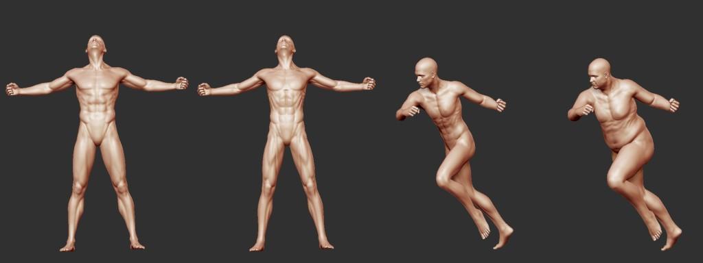 figure variations male 2