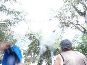 Shooting of Hats at the Tarascon Festival