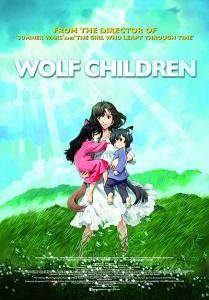 wolf children poster 209x300 - Julie's Picks GCFF 2013