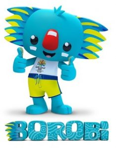 BOROBI Vert thumb 250x320 214922 234x300 - JULIE DANCING @ 2018 COMMONWEALTH GAMES