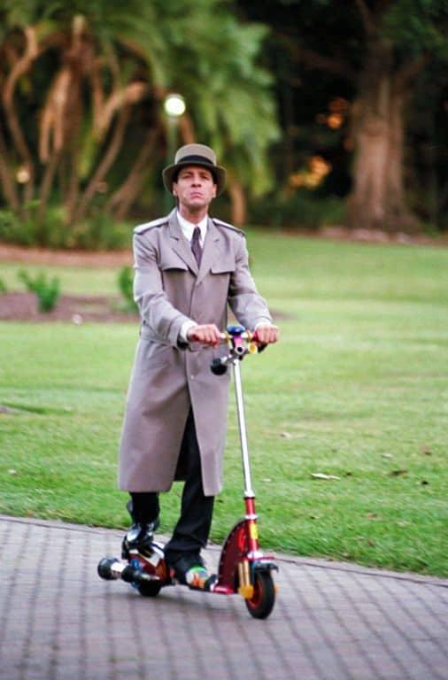 Inspector Gadget Go Go Gadget Scooter