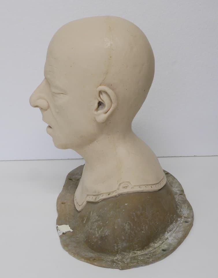Rowan Atkinson Silicone Head Cast