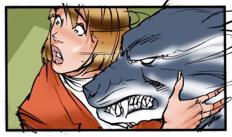 Werewolf storyboard