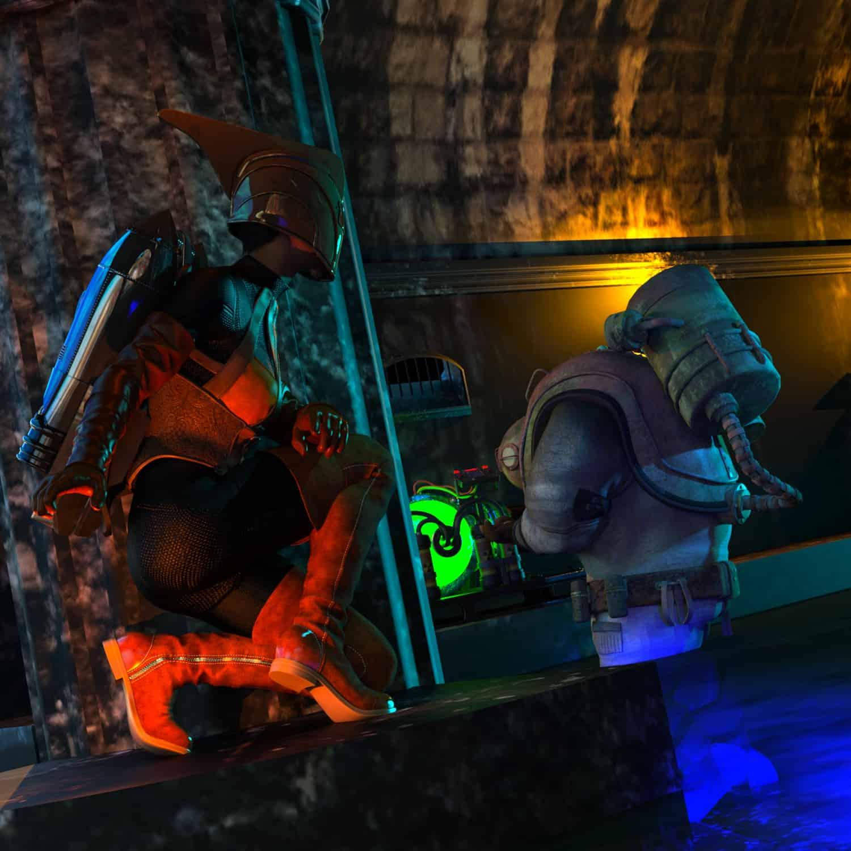 RR DEnizen tunnel 6 - 3D Artwork
