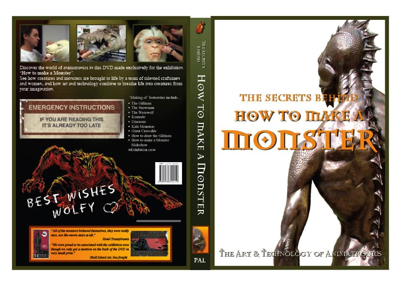 How To Make A Monster DVD